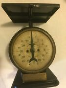 Antique American Family Scale, Patented 1898 Usa Vintage