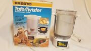Presto Potato Tater Twister Electric Curly French Fry Cutter New Vintage 1990