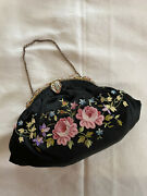 Antique French Tambour Purse