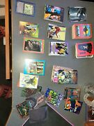 Mix Lot Of Non Sports Cards Ghostbusters 2 Batman Marvel Robin Hood T2 + More