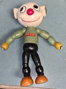 1932 Jl Kallus Doll Pete The Pup Jointed Figure Wood Body Composition Head