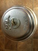 Beaver Gumball Machine--25 Cents---embossed Lid--etched Flapper--works And Has Key