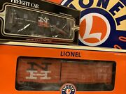 Lionel K-line New Haven Waffle Sided Boxcar Caboose O Scale New