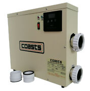 9kw Water Heater Thermostat Coasts For Swimming Pool Pond And Spa Bath Shower