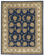 Nourison 2000 Rectangle 7and0399x9and0399 Navy Area Rug 099446708915