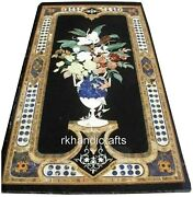 30 X 60 Inches Marble Dining Table Top Royal Hotel Table Hand Crafted From India