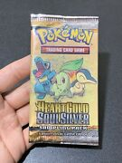 Pokemon Hgss Heart Gold Soul Silver Sampling Pack 3 Cards Factory Sealed Rare