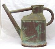 Late 19th Century Antique French Copper Watering Can Green Patina - Garden 1