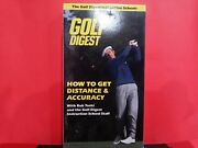 Golf Digest How To Distance And Accuracy Vhs - B678