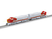 O-gauge - Lionel - Santa Fe Sharknose Aa Set, Suberbass Sharknose B And Powered