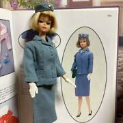 Mattel Vintage Barbie American Girl And Pannam Stewardess Outfit Set 1960s Used
