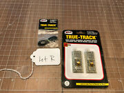 Atlas N Scale Train True-track 2425 2 Pcs Bumpers And 2491 Terminal Wire Lot R
