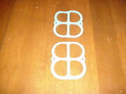 Plenum Gaskets One Pair That Fit The Weiand Boss 302 Tunnel Ram Intake