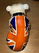Royal Doulton Uj Bulldog. 1941 Large, Estate Find In Great Condition Rn 645658