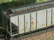 Custom Weathered Exactrail Ps-2cd 4427 Np Northern Pacific Covered Hopper