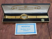 Vintage 1776-1976 Bicentennial Men's Gold Tone Wrist Watch ,never Been Used