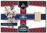 Albert Pujols Game-used, Serial D, Parallels And Inserts, All Nrmt, You Choose