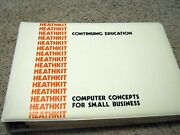 Heathkit Continuing Education Ec-1103 Computer Concepts For Small Business