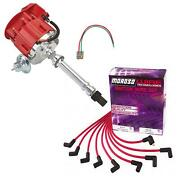 Sbc/bbc Ready-to-run Ignition Kit Red Dist/under-headers Wires