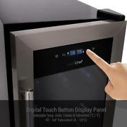 Wine Chilling Refrigerator Cellar - Dual-zone Wine Cooler/chiller Digital Touch