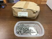 Roofing Nails, Stainless Steel, 1.5 Inch, 10 Guage, 3/8 Head