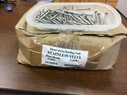 Roofing Nails, Stainless Steel, 2 Inch, 10 Guage, 3/8 Head