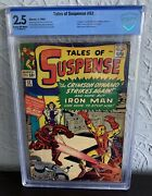 Tales Of Suspense 52 Cbcs 2.5 1964 1st Appearance Of The Black Widow