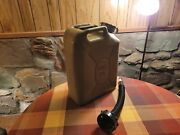 Military Surplus Scepter Jerry Can And Spout