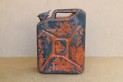 Old Vintage German Military Wehrmacht Jerry Can Gas Fuel Container Wwii Ww2 1942