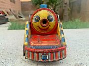 1960and039s Vintage Mountain Special 3671 Tin Toy Electric Train Set-made In Japan