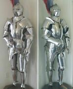 Medieval Knight Suit Of Armor 15th Century Combat Full Body Armour Collectible