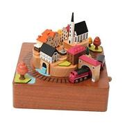 Wooden Music Box | | 1039912 | Hand Made Hand Painted Collectible Autumn Train