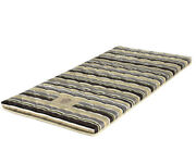 Thai Roll Mattress Spare Bed Brown And Green Tones Stripes Pattern 198cm X 92cm