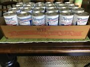 Narragansett Bicentennial Beer Can Pull Tab No Rust/emptylot Of 24 With Case