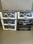 Lot Of 6 Gearbox White Plains Ford Police Interceptor And Fire Dept. Die Cast New