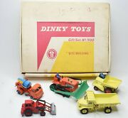Dinky Toys 900 Site Building Gift Set Very Near Mint/boxed