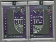Marvin Bagley Iii 2018-19 Panini Instant Logos 2- 1/1and039s 1/2 2/2 Sick Team Patch
