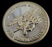 Nsw Commanding Officer Navy Ops Support Center San Diego Challenge Coin