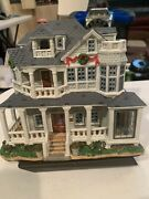 2007 Lemax Carole Towne Christmas Village Ocean Crest Bed And Breakfast Hotel
