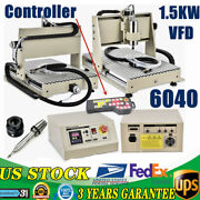 3axis Cnc 6040 Desktop Router Engraving 1,5kw Vfd Pcb Woodworking Cutter With Rc