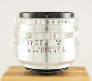 Carl Zeiss Jena Biotar 58mm F2 M42 Collector's Lens - 2/58 - Special Name Plate