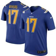 New Los Angeles Chargers Philip Rivers Nike Color Rush Legend Edition Jersey Nwt