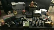 Nintendo Gamecube N64 Playstation Ps1 Gameboy Color Box Video Game Lot