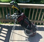 High End Mens Complete Golf Club Set And Bag, Callaway, Titleist, Odyssey And More