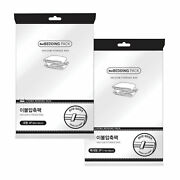 Elixir Deco Vacuum Seal Storage Space Saver Bags For Clothing, Bedding, Blankets