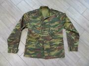 Vintage French Lizard Camouflage Army Military Shirt Jacket M Rhodesian