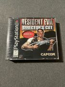 Resident Evil Directorand039s Cut Sony Playstation 1 2 Ps2 Ps1 System Complete Game
