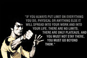 Bruce Lee Quote You Should Be Classic Wall Design Painting Wall - Poster 24x36