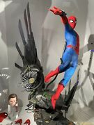 In Stock Hot Toys Qs015b Homecoming 1/4 Spider-man Deluxe Set Special Edition