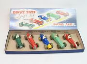 Dinky Toys 4 Racing Car Gift Set Very Near Mint/boxed